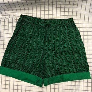 Gap Unique Pattern High Waisted Shorts